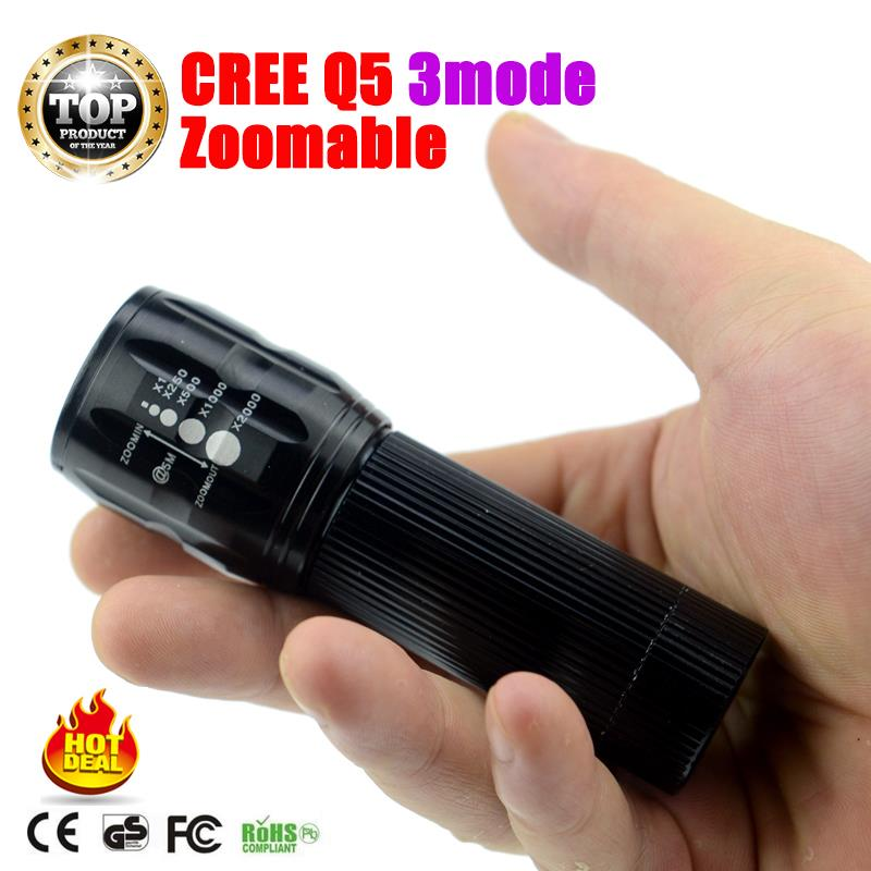 LED flashlight lanterna Flashlight LED Torch Portable tactical lantern torch cree penlight for 3xAAA battery not included ZK93(China (Mainland))