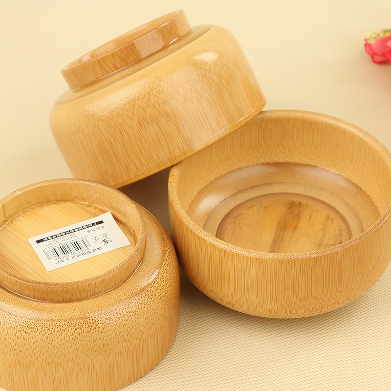 Natural bamboo, bamboo bowl, creative home, health and hygiene products,at the dinner table, a necessary thing in the world(China (Mainland))