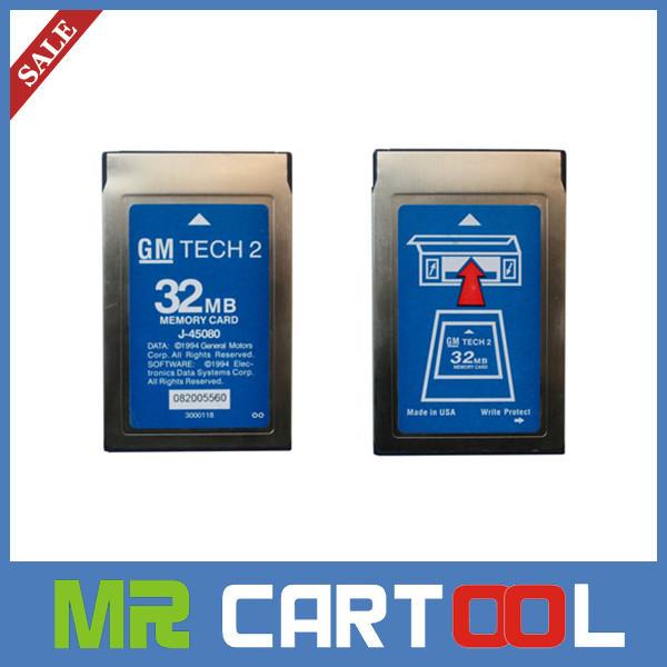 2015 Top-Rated GM,OPEL,SAAB,ISUZU,suzuki,holden Professional Memory GM Tech2 card GM Tech2 32MB Card Free Shipping(Hong Kong)