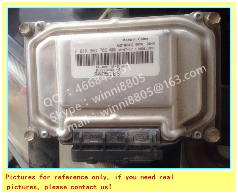 For Zhonghua Wagon 4A91 car engine computer board/ECU/ Electronic Control Unit/Car PC/ F01RB0D766 348510 /Trip computer(China (Mainland))