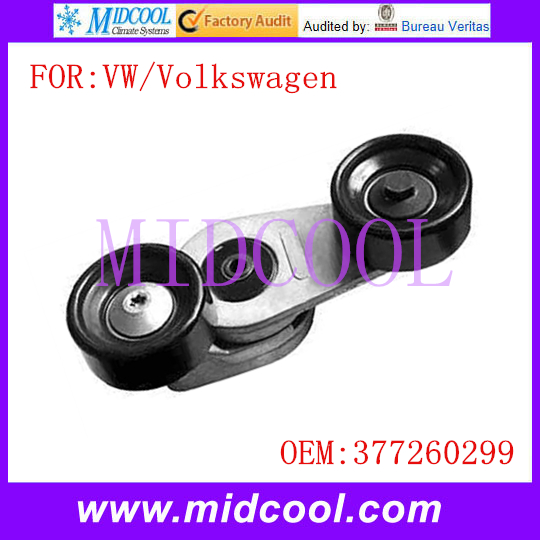 New Auto Belt Tensioner Pulley use OE NO. 377260299 for Volkswagen VW(China (Mainland))