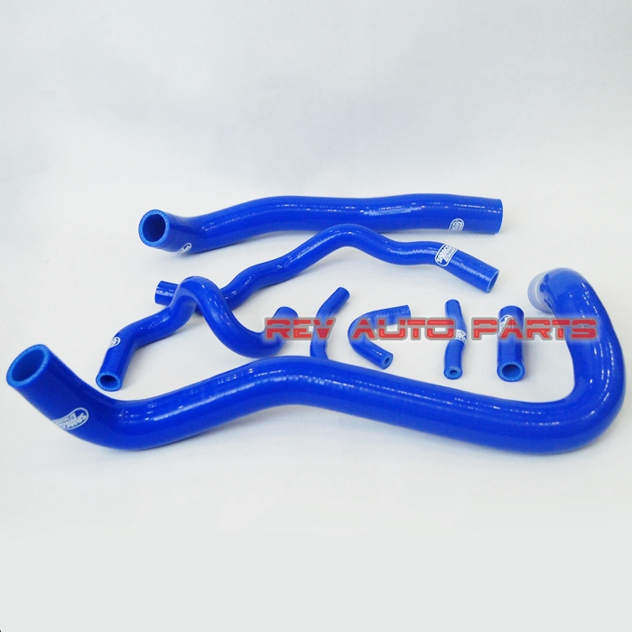 Custom Blue Color 8PCS Silicone Radiator Hose Kit For HONDA CIVIC 8 Generation FD2 K20A 2.0 06-11(China (Mainland))