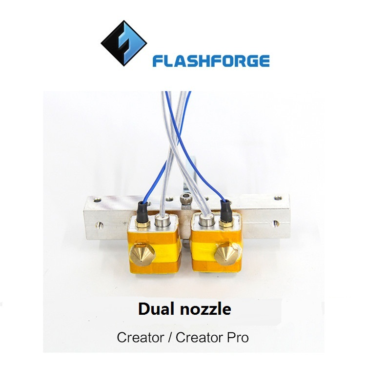 Double nozzle  kit special fitting   for Creator/ Creator pro  3D printer  free shipping