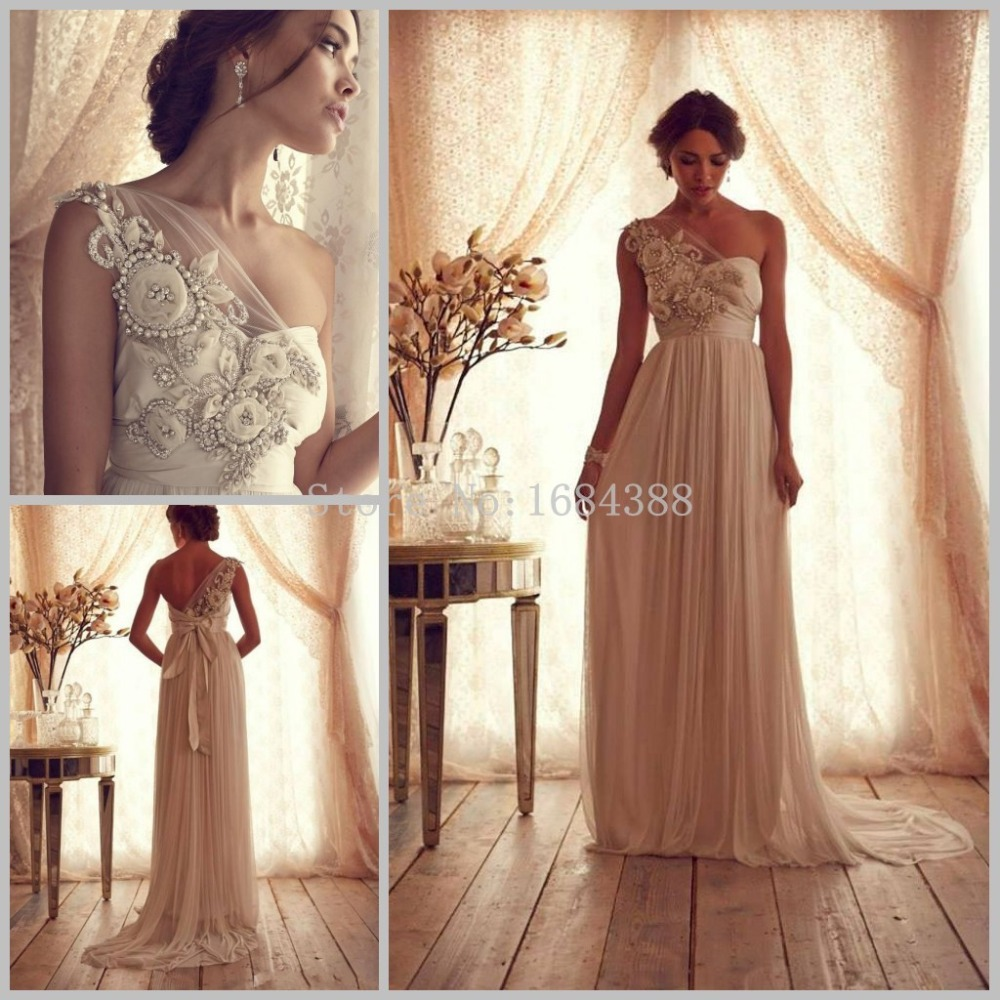Western style beach wedding dress vestido de noiva one for Wedding dress western style