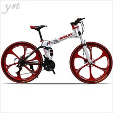 Bicycle Carbon Steel Bright Mountain Bike Cool 21-speed Shuangdie brake folding Cycling,RJ0998(China (Mainland))