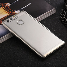 Huawei P8 Lite P9 plus luxury plating frame soft TPU case Mate 7 8 honor 4X 5C V8 back cover - S Electronic store