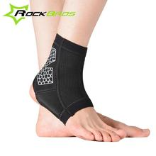 ROCKBROS Sports Ankle Support Cycling Football Basketball Taekwondo Badminton Protection Ankle Sprain Brace Guard Protect(China (Mainland))