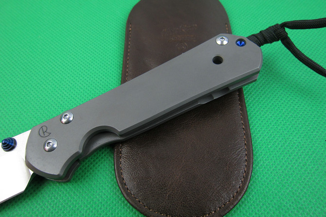 Wild Boar Chris Reeve Sebenza 21 Folding Knife Tactical KnifeD2 Blade With Stone Wash TC4 Titanium