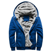Men Fashion Brand Hoodies Sweatshirts Big Discount Hot Sell KIMMAS Winter Thick Casual Male Hooded Jackets Free Shipping(China (Mainland))