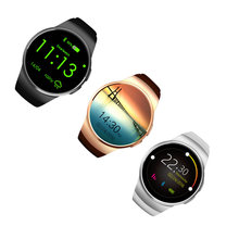 Bluetooth4.0Smart Watch Heart Rate Monitor SIM Card IPS Screen Smartwatch Fitness Tracker Waterproof Watch for IOS Android Phone