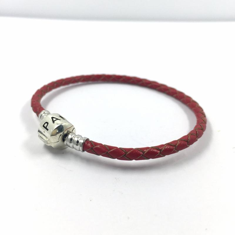 cheap pandora leather bracelet