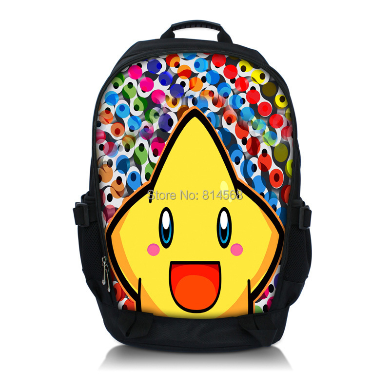 """Smily Starfish Backpack Campus BookBag Fits 15.6"""" Netbook / Laptop Compartment Cute College School Book Backpack Travel Bag(China (Mainland))"""