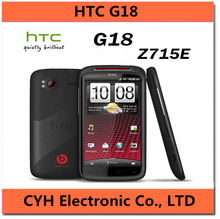 G18 Original HTC Sensation XE Z715E G18 Android 8MP WIFI GPS 4.3″'TouchScreen Unlocked Cell Phone with the beats audio earphone