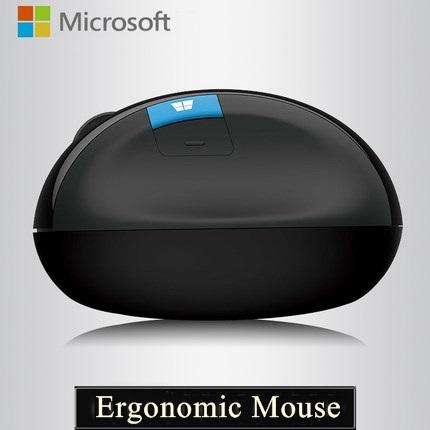 100% original Brand New 1000DPI Microsoft Sculpt Ergonomic 2.4GHz Ergonomic Wireless Mouse For Desktop Notebook<br><br>Aliexpress