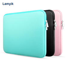 """Buy Notebook Soft Sleeve Laptop Bag Case Sleeve Protector mac book 13""""for Macbook Air Pro Notebook Laptop Sleeve Carry Bag Case for $10.79 in AliExpress store"""