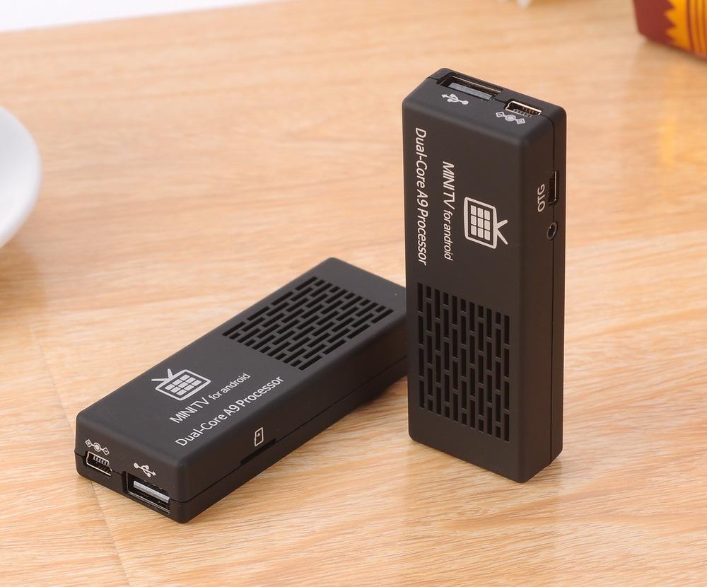 Chong Siqi MK808C RK3066 dual-core intelligent network set-top box HD player mini living room computer(China (Mainland))