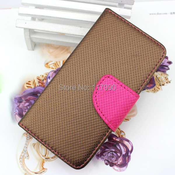 Free DHL Arrival Fishing Net Leather Flip Phone Case For Apple iPhone 5 5g Wallet Case For iphone 5 With Hole Credit Card Slots(China (Mainland))