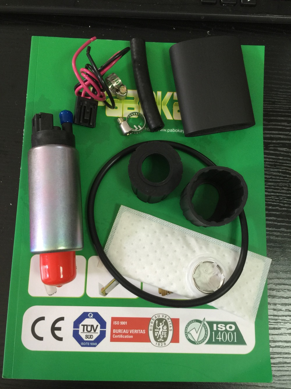 In Tank GSS340 +400-812 INSTALL KIT Mustang 1985-1997 255LPH HP Fuel Pump(China (Mainland))