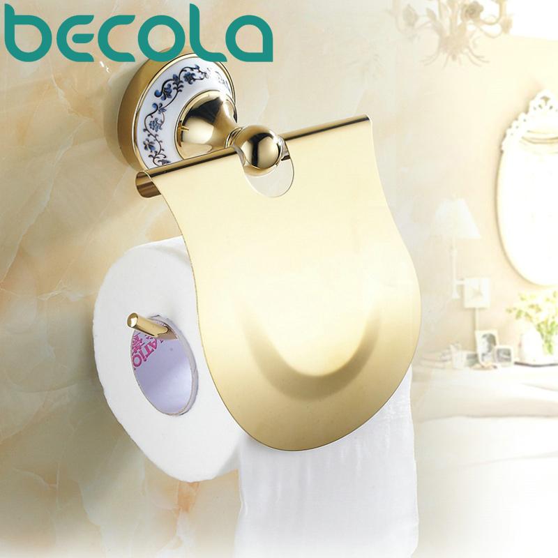 Compra accesorios de ba o de porcelana blanca online al for Accesorios bano papel higienico