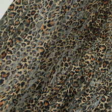 2yards Wide 150CM Animal Print Fabric Leopard Skin Prints lace fabric Four colors(China (Mainland))