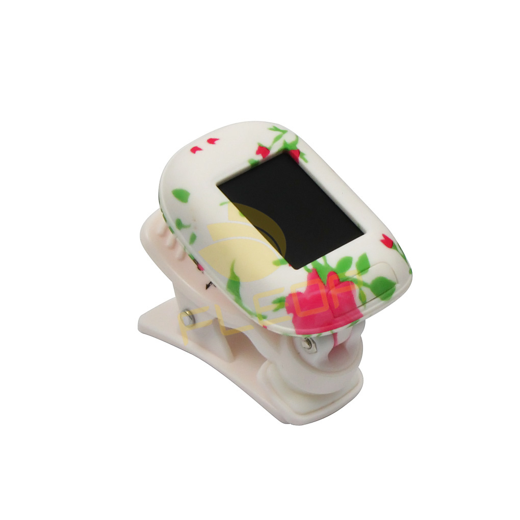 New Arrival Popular Item Rowin LT-36 LCD Digital Tuner White Clip-on Tuner for Electric Guitar Bass(China (Mainland))