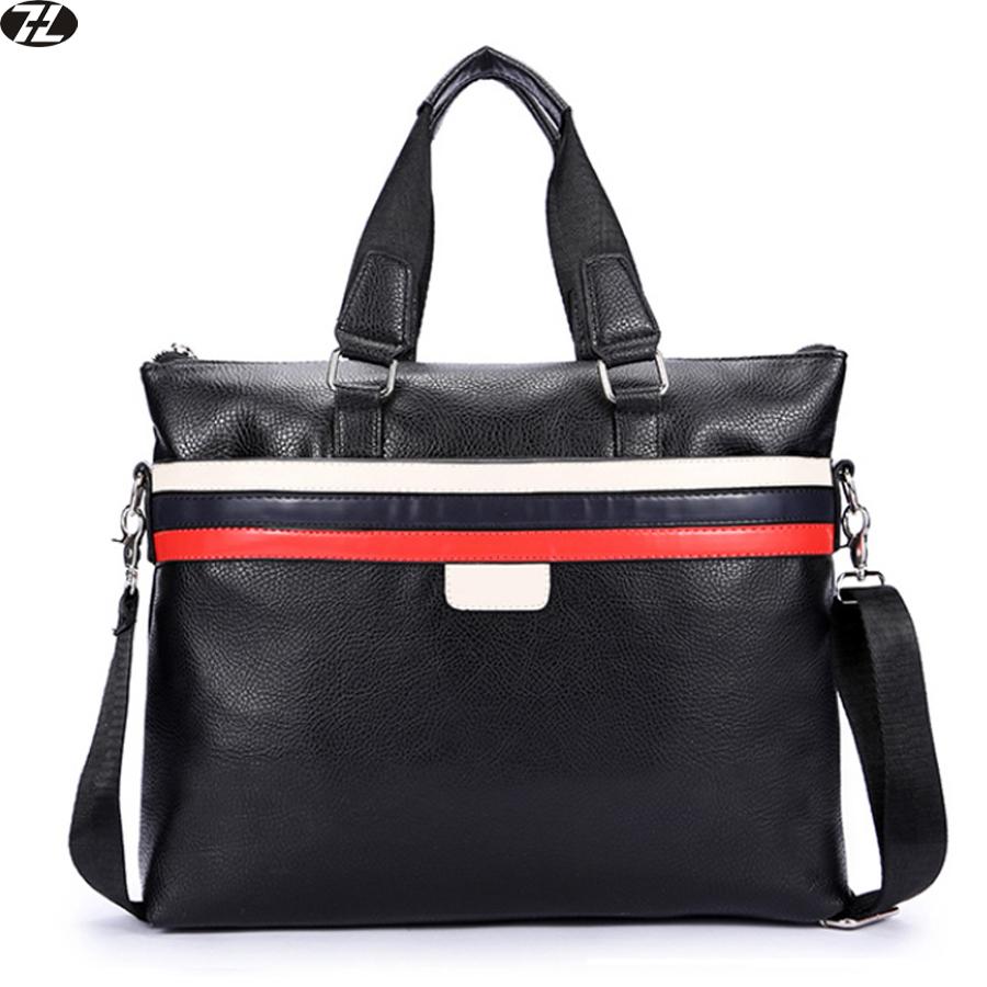 man handbag leather business tote men crossbody bags brand men messenger shoulder Laptop bag men leather briefcase(China (Mainland))