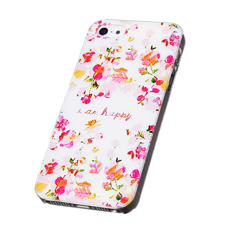 2016 new phone Case Hard Cover for Apple iPhone 5 5G Black Skull Rose Floral Monkey Painted Cases For iPhone5 5s Wholesale(China (Mainland))