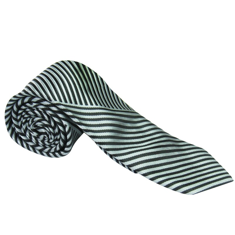 New For Fashion MenTie Jacquard Woven Silk Necktie Party Wedding Casual Striped Tie(China (Mainland))
