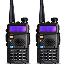 2 Pcs BaoFeng UV-5R Talkie Walkie VHF/UHF136-174Mhz & 400-520 Mhz Dual Band Two way radio Baofeng uv 5r Portable Talkie walkie uv5r(China (Mainland))
