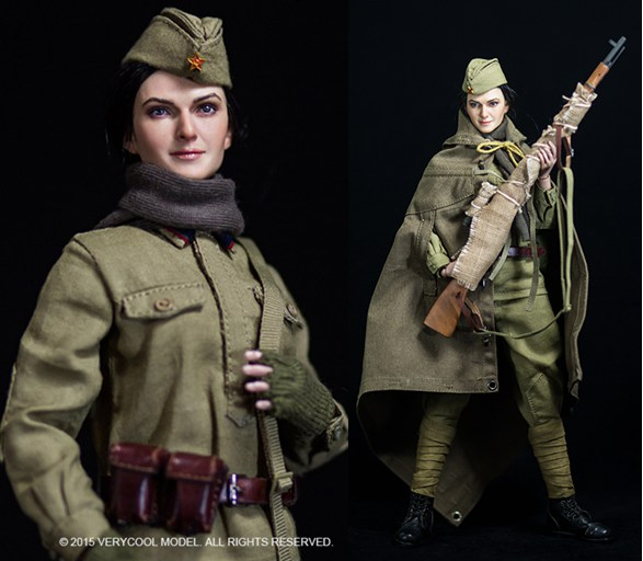 1/6 scale Military figure doll WWII Soviet Female Sniper.12 action figures doll.Collectible figure model toy gift<br><br>Aliexpress