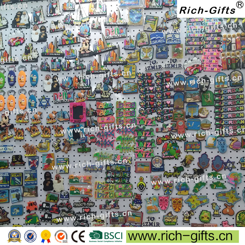 Promotional Gifts With Your Logo Cartoon Fridge Magnet  Animal  Souvenir OEM/ODM   (RC-B-003)
