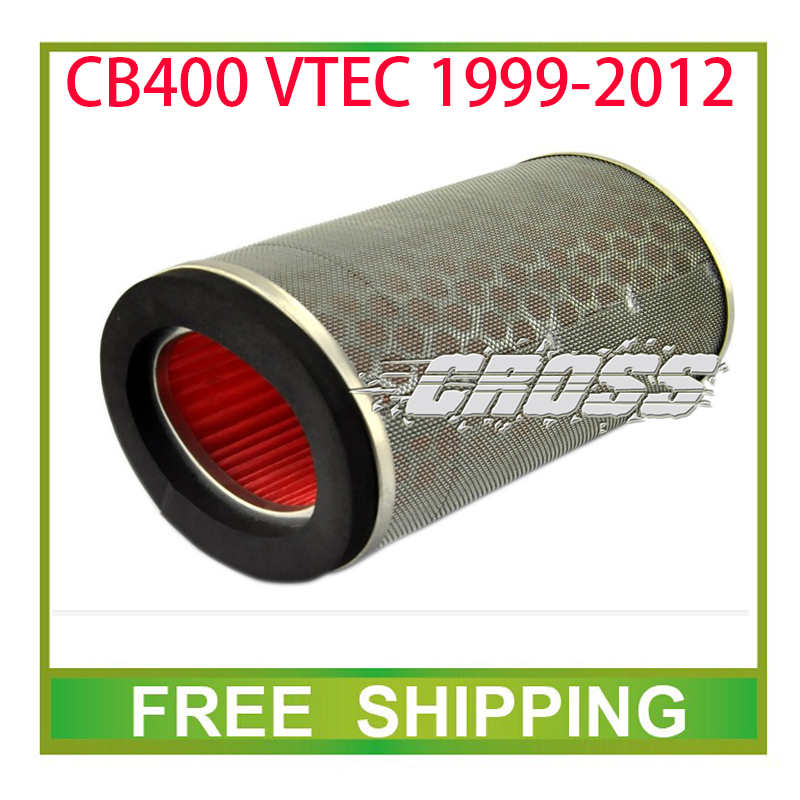 CB400 VTEC 1999-2012 CB 400 400cc engine air filter cleaner motorcycle accessories part free shipping(China (Mainland))
