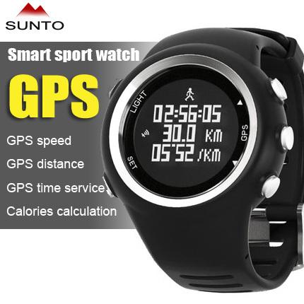 SUNTO running Men's sports watches GPS watch digital waterproof wristwatch 2015 men hiking sailing calorie swimming hours women(China (Mainland))