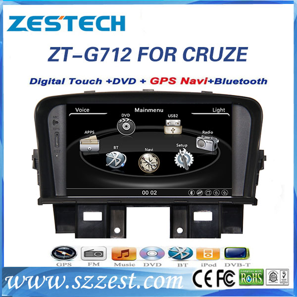 car dvd player for chevrolet cruze dvd player built in gps navigation supplier by Shenzhen DVD factory(China (Mainland))