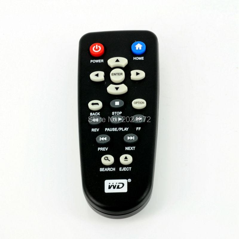 New Replacement Remote Control Fit For WDWestern Digital WDTV Live TV Plus Mini HD Hub Media Player WDTV001RNN(China (Mainland))