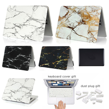 Buy New Coque Macbook Air Pro Retina 11 13 15 Cover Marble Stone PC Case Macbook Air 13 Case Free keyboard Cover Dust Plug for $8.00 in AliExpress store