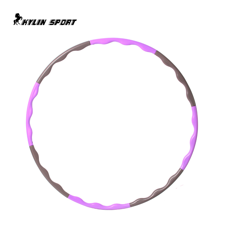 8 Parts Hot Selling Plastic Abdominal Fitness Hula Hoops Disassemble Massage Health Weight Loss Equipment Thin Waist(China (Mainland))