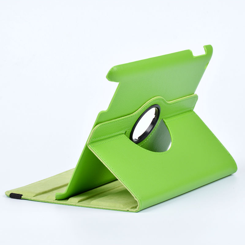 For 9.7 inch Apple iPad 2 3 4 Case Cover holder PU Leather Tablet PC stand 360 Degree Rotating For Laptop Apple iPad(China (Mainland))