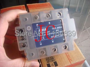 Three phase Solid state relay TSR-80DA 80A SSR relay(China (Mainland))