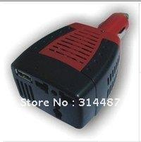 NEW Automotive Inverter USB 75W DC 12V to AC 110V Power Free Shipping(China (Mainland))