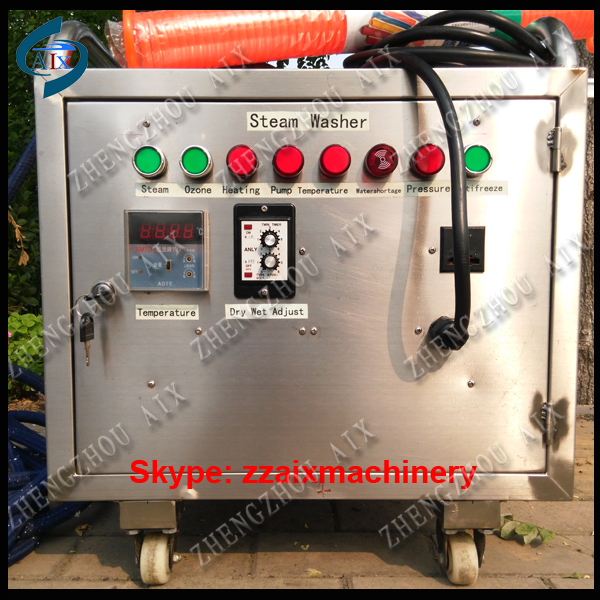 4kw small power stainless steel steam washing machine - Zhengzhou Aix Machinery Equipment Co., Ltd. store