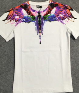 Tide brand water color wings t-shirt 190 short sleeve T-shirt and a couple of tide free shipping(China (Mainland))