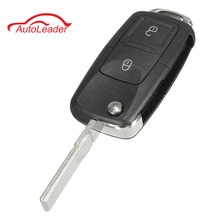 Buy 2 Button Flip Remote Key Fob Case 433MHz ID48 Chips VW Beetle Bora Golf Passat Polo Transporter T5 1J0 959 753 AG for $10.99 in AliExpress store