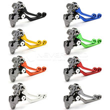 One Pair CNC Pivot Brake Clutch Levers For motorbikes