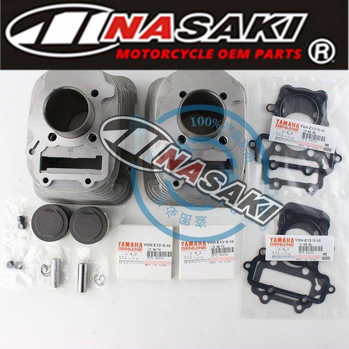 NASAKI High performance high precision high quality for YAMAHA 250CC motorcycle XV250 cylinder kits(China (Mainland))