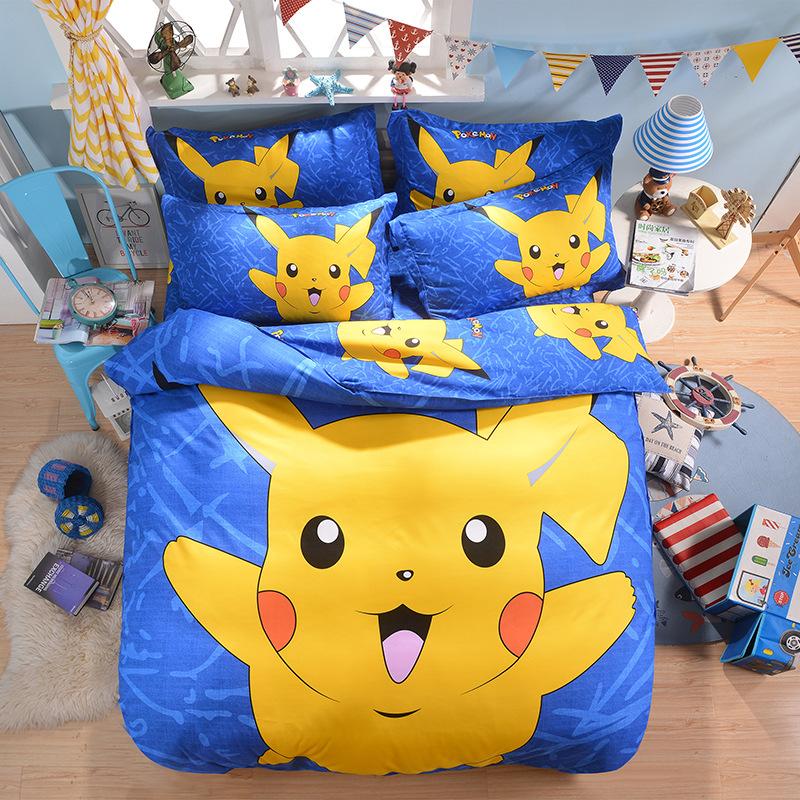 achetez en gros pokemon couette ensemble en ligne des grossistes pokemon couette ensemble. Black Bedroom Furniture Sets. Home Design Ideas