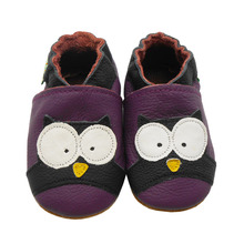 Sayoyo Brand Cow Leather Baby Moccasin Animal Soft Soled Infant Toddler Baby Boys Shoes First Walkers 14 15 16cm Free Shipping(China (Mainland))