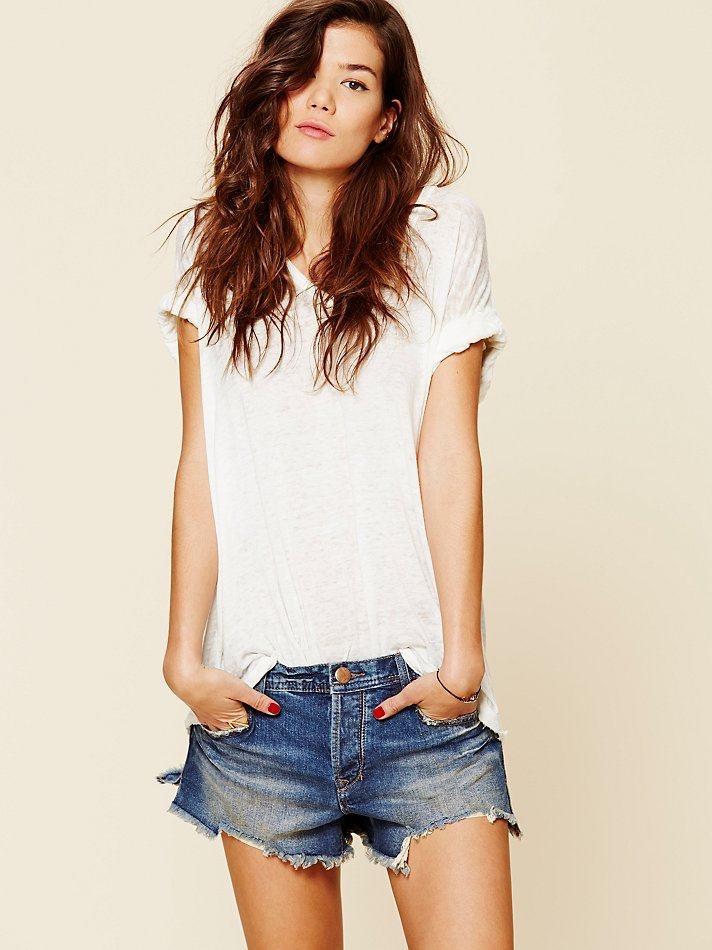 NEW! FP Girls Super Fashion Vintage Ripped Tassel Hem Blue Jeans Hot Shorts Woman Summer Street Cool Short Jeans Pants 262245(China (Mainland))