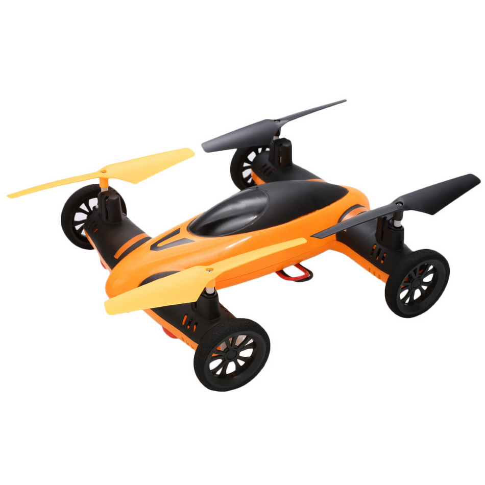 New Orange 4CH 6-Axis RC Quadcopter Car 2.4GHz Sky Land 360 Degree Helicopter Drone With Remote Control Boy Kids Toy Gift Hot BD(China (Mainland))