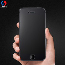 4s Tempered Glass Frosted Front Protector For Iphone 4 4s Screen Protective lucent glass Film Nano Coating CHYI Brand glass